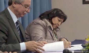 Facultad de Educación Firma Convenio con Municipalidad de Ninhue
