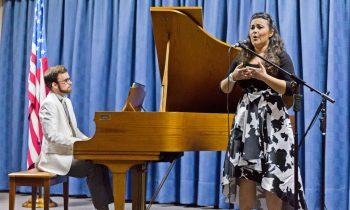Instituto de Música Presentó Concierto de Piano y Voz Lírica