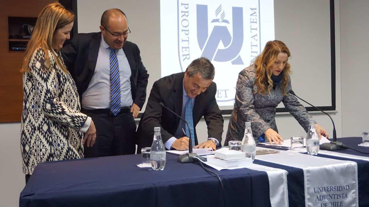 Instituto Nacional de Estadísticas Firma Convenio de Colaboración con la Universidad Adventista de Chile