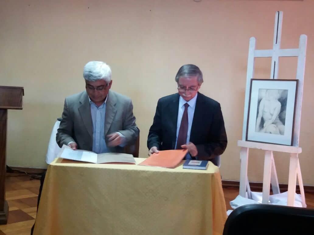 Facultad de Educación y Ciencias Sociales Firma Convenio con Biblioteca Municipal de Chillán