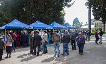 Gran Asistencia al Día de Campo de la Carrera de Agronomía