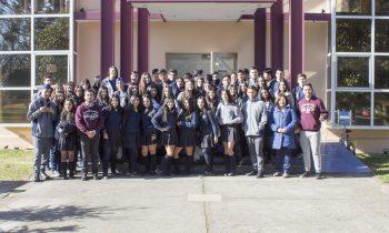 """Colegio de Talcahuano Visita Campus """"Las Mariposas"""""""