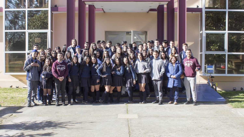 Colegio de Talcahuano Visita Campus «Las Mariposas»