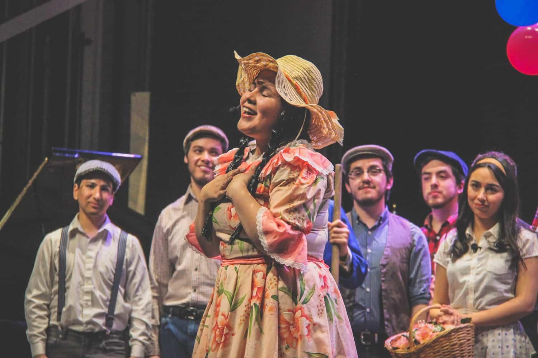Gran Presentación de «La Pérgola de las Flores» en Teatro Municipal de Chillán