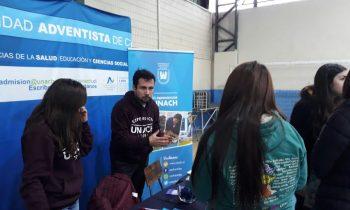 UnACh Participa en Feria Vocacional en Chillán