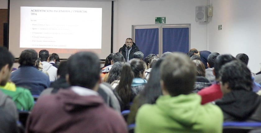 Reunión de Carreras de la Facultad de Ingeniería y Negocios