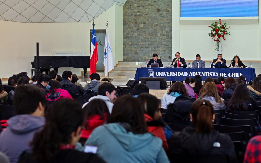 Universidad Adventista de Chile Socializa Proceso de Acreditación con Estudiantes