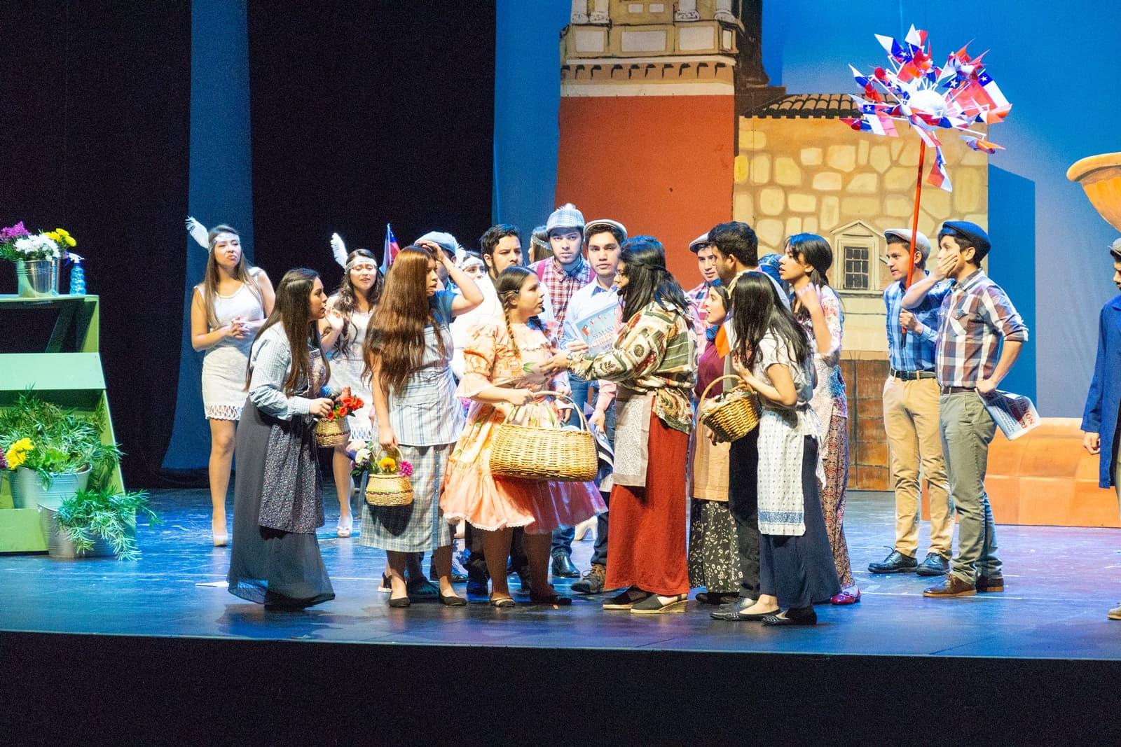 UnACh Presentó Obra en Teatro Municipal de Chillán