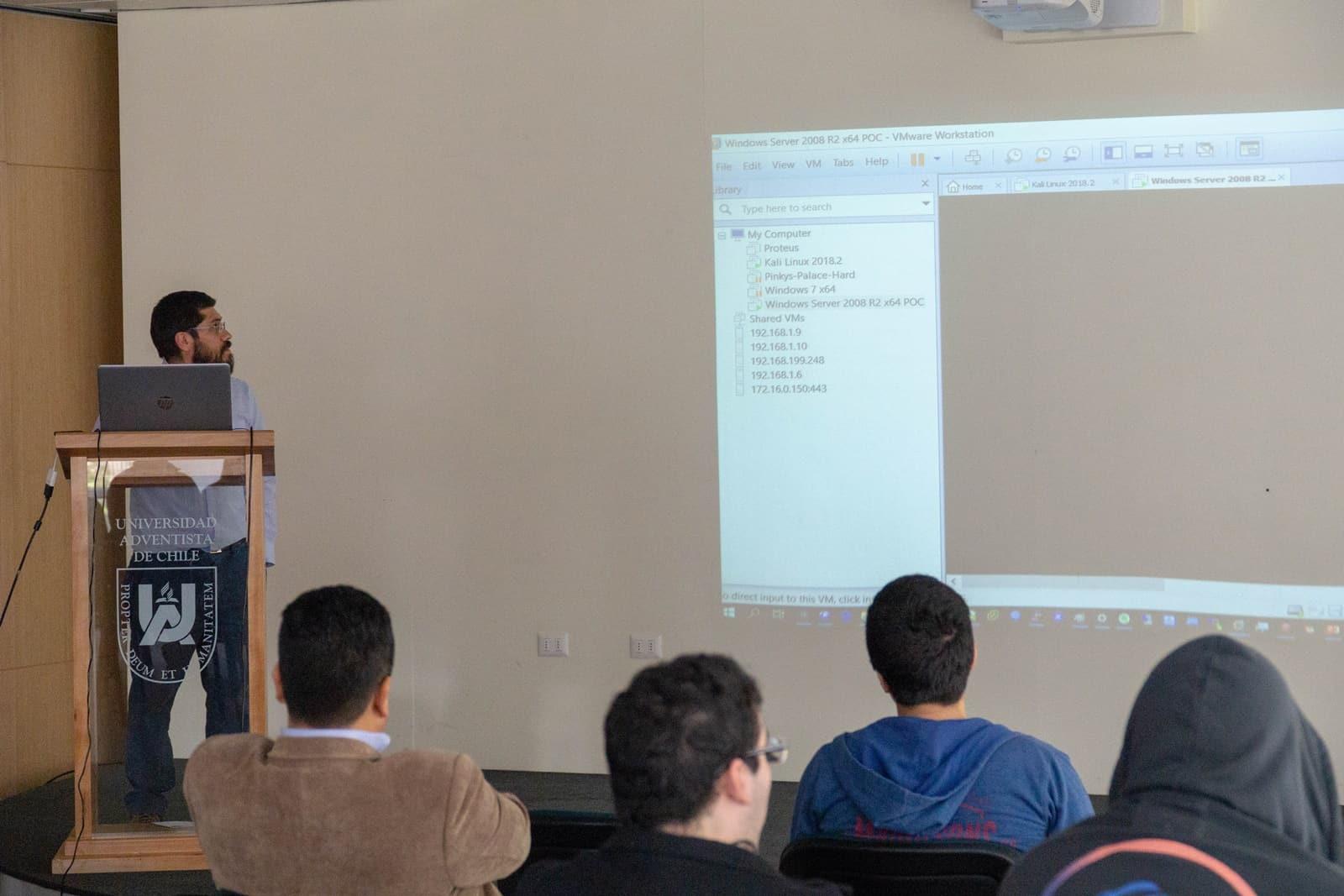 En UnACh se Organizó Primera Jornada de Cyber Seguridad