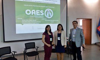 CAAE de la UnACh Participa en Relevante Congreso Internacional