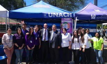 UnACh Participó en Feria Organizada por el Gobierno de Chile