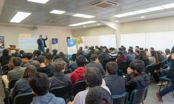 Dr. Clezio Marcos de Nardín Dictó Conferencia en la UnACh