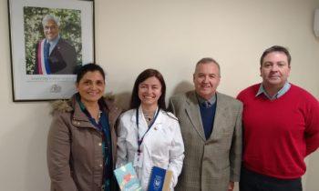 La UnACh sostiene reunión de trabajo con la Seremi de Salud de Ñuble