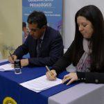 Facultad de Educación y Ciencias Sociales (FECS) firma convenio con el Liceo Bicentenario de Excelencia Polivalente de San Nicolás
