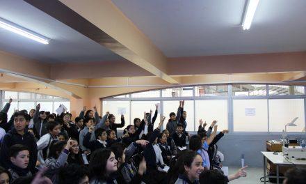La carrera de Pedagogía en Biología y Ciencias Naturales realizó charlas científicas itinerantes