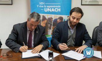 Firma de Convenio de Colaboración entre Sercotec región de Ñuble y Universidad Adventista de Chile