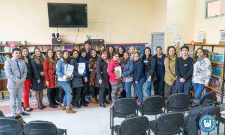 Carrera de Trabajo Social realizó ceremonia de clausura de Proyecto de VcM