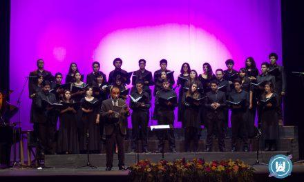 Coro de la carrera Pedagogía en Música de la UnACh es anfitrión en el XXV Festival Nacional de Coros