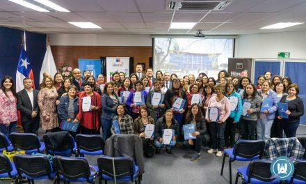 Carrera de Psicología realizó ceremonia de clausura de proyecto de VcM