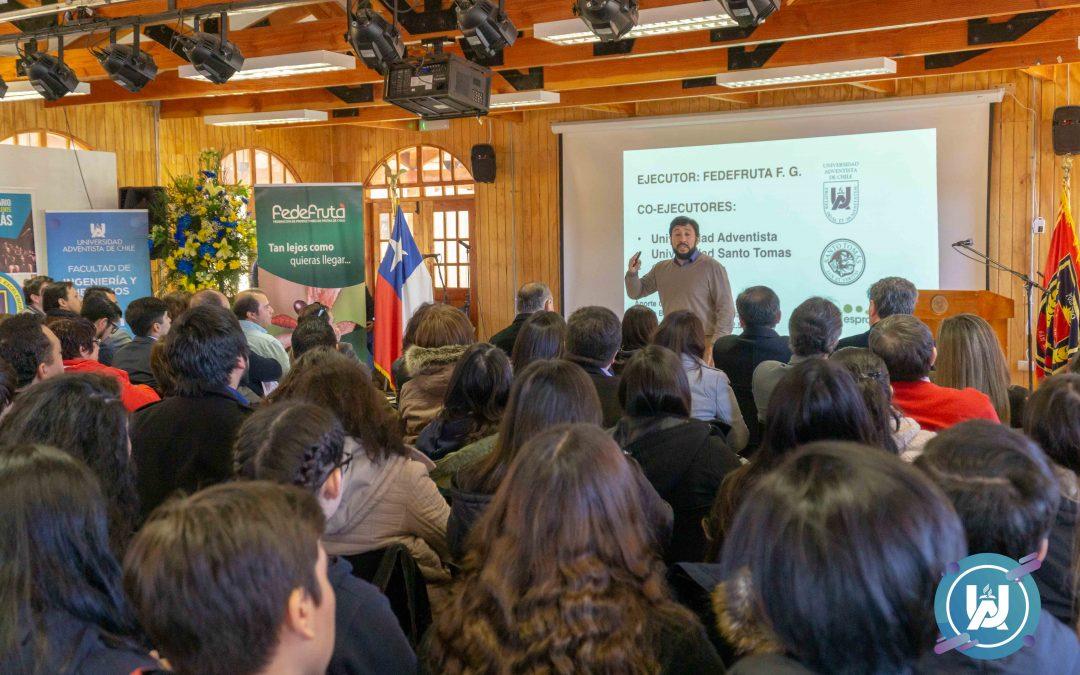 La UnACh participó del lanzamiento Proyecto Dinamiza en Liceo Bicentenario de San Nicolás
