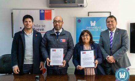UnACh firma Convenio de Colaboración con el Instituto Nacional de Deportes de Chile