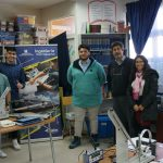 Carrera de Ingeniería Civil Industrial realizó Proyecto de VcM en el Colegio Adventista de Lota