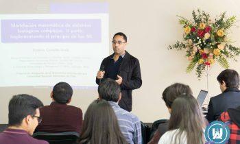 """Carrera de Pedagogía en Matemática y Computación realizó Seminario titulado """"Matemáticas Interdisciplinarias"""""""