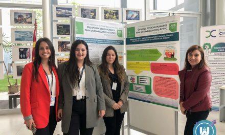 Alumnas de Psicología expusieron en Tercera Jornada de Investigación e Innovación de Salud en Talca