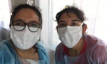 Influenza: 150 personas se vacunan gracias a acto solidario de docentes de la UNACH