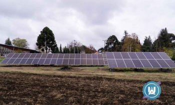 UNACH construye Parque Solar que funciona como laboratorio al aire libre
