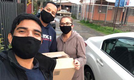 Agrupación Gemas entrega cajas de alimentos a familias de personas con Trastorno del Espectro Autista
