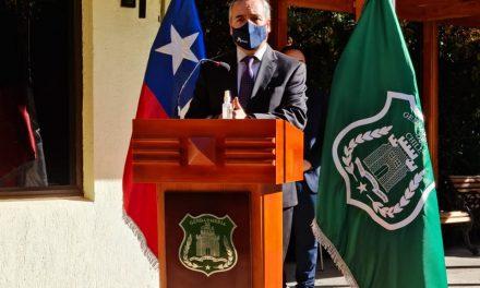 FIRMAN CONVENIO ENTRE LA FACULTAD DE SALUD DE  LA UNACH Y GENDARMERÍA DE CHILE.