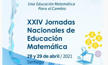 XXIV Jornadas Nacionales de Educación Matemática 2021