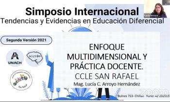 II SIMPOSIO INTERNACIONAL: TENDENCIAS Y EVIDENCIAS EN EDUCACIÓN DIFERENCIAL TEDI 2021